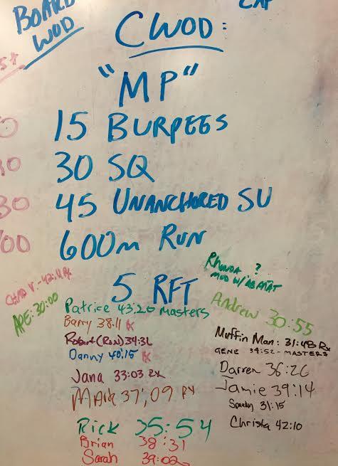 MP CrossFit Tulsa 091915